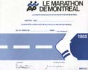 Marathon international de Montréal 1985