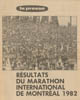 Marathon international de Montréal 1982