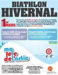 Affiche Biathlon Hivernal Malartic 2015