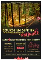 Affiche Course en sentiers de Val-d'Or été