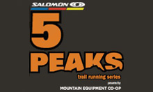 5 Peaks Trail Running Series - QC/ON