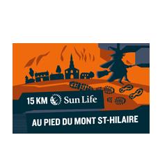15km au pied du Mont Saint-Hilaire