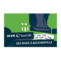 30km des rives de Boucherville