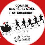 Course des pères Noël de Saint-Eustache