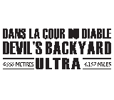 Dans La Cour du Diable - Devil's Backyard Ultra