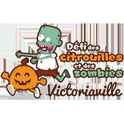 Défi des citrouilles et des zombies