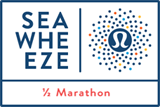 The Sea Wheeze lululemon Half-Marathon